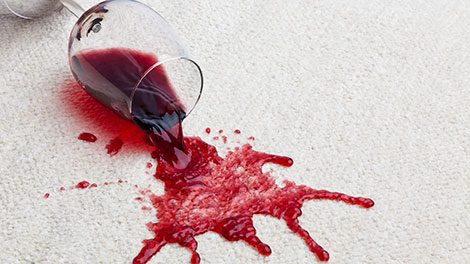 Carpet Cleaning Colfax - wine stain removal in carpet